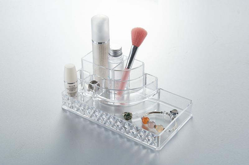 SF-1118D炫彩透明水晶收纳盒