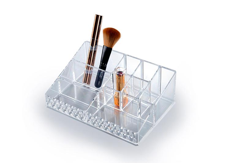 SF-1611D炫彩透明水晶收纳盒