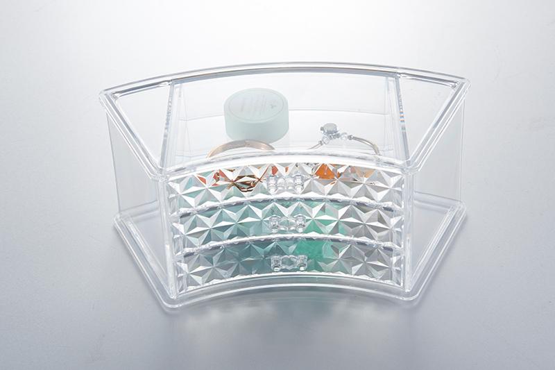 SF-1606D炫彩透明水晶收纳盒