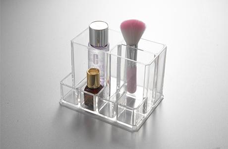 刷柄收纳盒 化妆品塑料收纳盒 化妆小饰件盒SF-6016