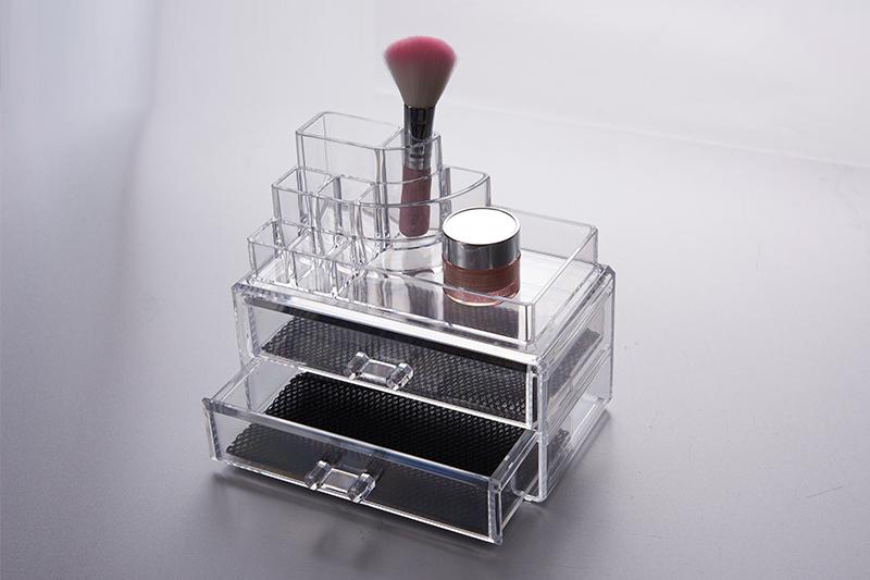 女性化妆盒 带抽屉妆饰品盒 多功能收纳盒SF-1065化妆盒