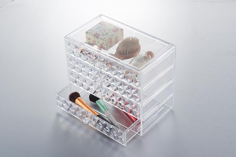 SF-1540炫彩透明水晶收纳盒